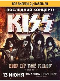 Афиша концерта KISS