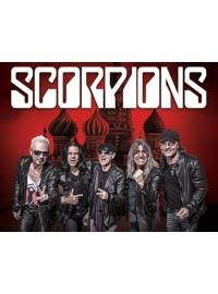 Афиша концерта Scorpions